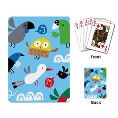New Zealand Birds Close Fly Animals Playing Card