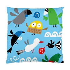 New Zealand Birds Close Fly Animals Standard Cushion Case (two Sides)