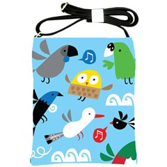 New Zealand Birds Close Fly Animals Shoulder Sling Bags