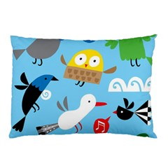 New Zealand Birds Close Fly Animals Pillow Case (two Sides)