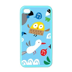 New Zealand Birds Close Fly Animals Apple Iphone 4 Case (color)