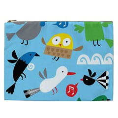 New Zealand Birds Close Fly Animals Cosmetic Bag (xxl)