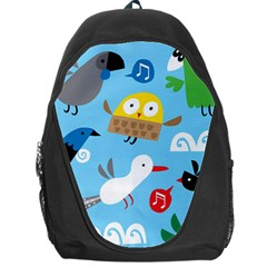 New Zealand Birds Close Fly Animals Backpack Bag
