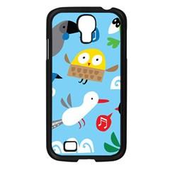 New Zealand Birds Close Fly Animals Samsung Galaxy S4 I9500/ I9505 Case (black)