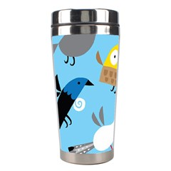 New Zealand Birds Close Fly Animals Stainless Steel Travel Tumblers