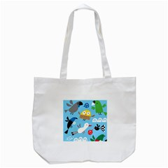 New Zealand Birds Close Fly Animals Tote Bag (white)