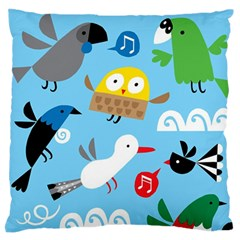 New Zealand Birds Close Fly Animals Standard Flano Cushion Case (two Sides)