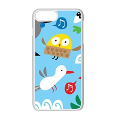 New Zealand Birds Close Fly Animals Apple Iphone 7 Plus White Seamless Case