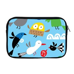 New Zealand Birds Close Fly Animals Apple Macbook Pro 17  Zipper Case