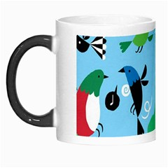 New Zealand Birds Detail Animals Fly Morph Mugs