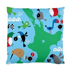 New Zealand Birds Detail Animals Fly Standard Cushion Case (two Sides)