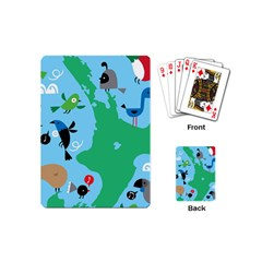New Zealand Birds Detail Animals Fly Playing Cards (mini)