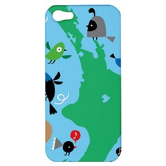 New Zealand Birds Detail Animals Fly Apple Iphone 5 Hardshell Case