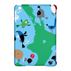 New Zealand Birds Detail Animals Fly Apple Ipad Mini Hardshell Case (compatible With Smart Cover)