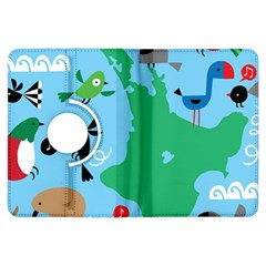 New Zealand Birds Detail Animals Fly Kindle Fire Hdx Flip 360 Case