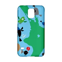 New Zealand Birds Detail Animals Fly Samsung Galaxy S5 Hardshell Case