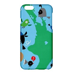 New Zealand Birds Detail Animals Fly Apple Iphone 6 Plus/6s Plus Hardshell Case