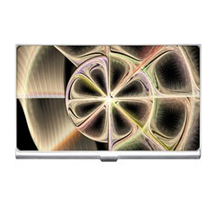 Background With Fractal Crazy Wheel Business Card Holders