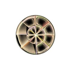 Background With Fractal Crazy Wheel Hat Clip Ball Marker (4 pack)