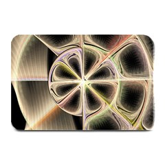 Background With Fractal Crazy Wheel Plate Mats