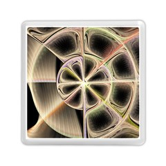 Background With Fractal Crazy Wheel Memory Card Reader (square)
