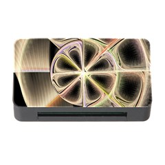 Background With Fractal Crazy Wheel Memory Card Reader with CF