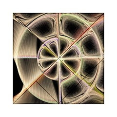 Background With Fractal Crazy Wheel Acrylic Tangram Puzzle (6  x 6 )