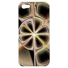 Background With Fractal Crazy Wheel Apple iPhone 5 Hardshell Case