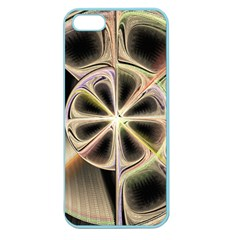 Background With Fractal Crazy Wheel Apple Seamless Iphone 5 Case (color)