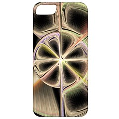 Background With Fractal Crazy Wheel Apple iPhone 5 Classic Hardshell Case