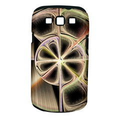 Background With Fractal Crazy Wheel Samsung Galaxy S III Classic Hardshell Case (PC+Silicone)