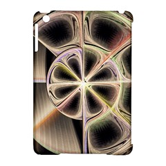 Background With Fractal Crazy Wheel Apple Ipad Mini Hardshell Case (compatible With Smart Cover)