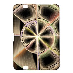 Background With Fractal Crazy Wheel Kindle Fire Hd 8 9