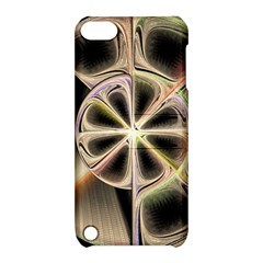 Background With Fractal Crazy Wheel Apple iPod Touch 5 Hardshell Case with Stand