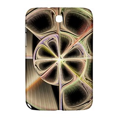 Background With Fractal Crazy Wheel Samsung Galaxy Note 8 0 N5100 Hardshell Case