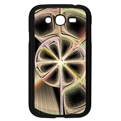 Background With Fractal Crazy Wheel Samsung Galaxy Grand DUOS I9082 Case (Black)