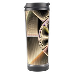 Background With Fractal Crazy Wheel Travel Tumbler