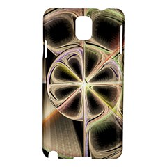 Background With Fractal Crazy Wheel Samsung Galaxy Note 3 N9005 Hardshell Case