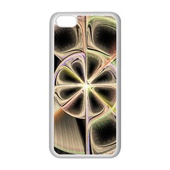 Background With Fractal Crazy Wheel Apple iPhone 5C Seamless Case (White)