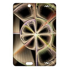 Background With Fractal Crazy Wheel Amazon Kindle Fire Hd (2013) Hardshell Case