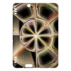 Background With Fractal Crazy Wheel Kindle Fire Hdx Hardshell Case