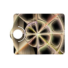 Background With Fractal Crazy Wheel Kindle Fire HD (2013) Flip 360 Case