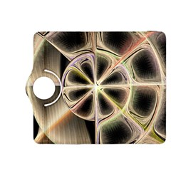 Background With Fractal Crazy Wheel Kindle Fire HDX 8.9  Flip 360 Case