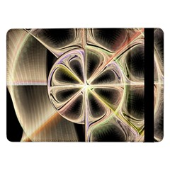 Background With Fractal Crazy Wheel Samsung Galaxy Tab Pro 12.2  Flip Case