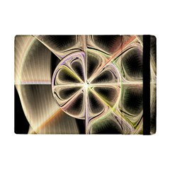 Background With Fractal Crazy Wheel iPad Mini 2 Flip Cases