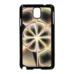 Background With Fractal Crazy Wheel Samsung Galaxy Note 3 Neo Hardshell Case (Black)