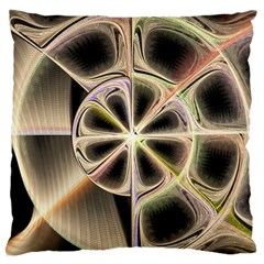 Background With Fractal Crazy Wheel Standard Flano Cushion Case (Two Sides)