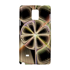 Background With Fractal Crazy Wheel Samsung Galaxy Note 4 Hardshell Case
