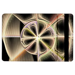 Background With Fractal Crazy Wheel Ipad Air 2 Flip