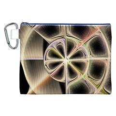 Background With Fractal Crazy Wheel Canvas Cosmetic Bag (XXL)